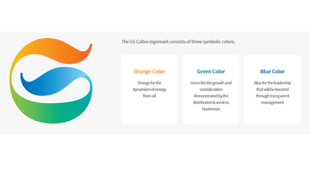 Корпоративные цвета GS Caltex