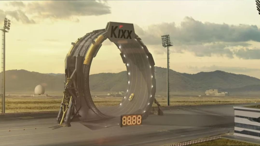 Рекламный ролик Kixx – бекстейдж